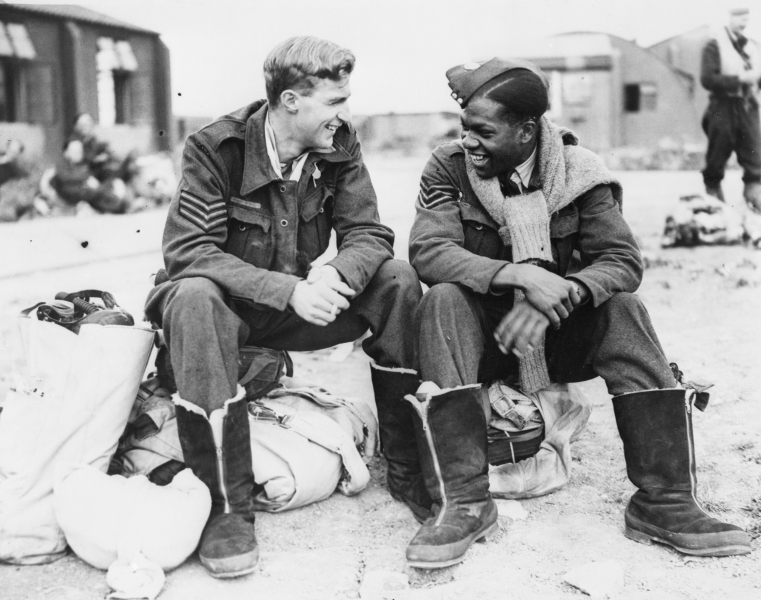AIRCREW FROM CANADA AND THE WEST INDIES, WW2