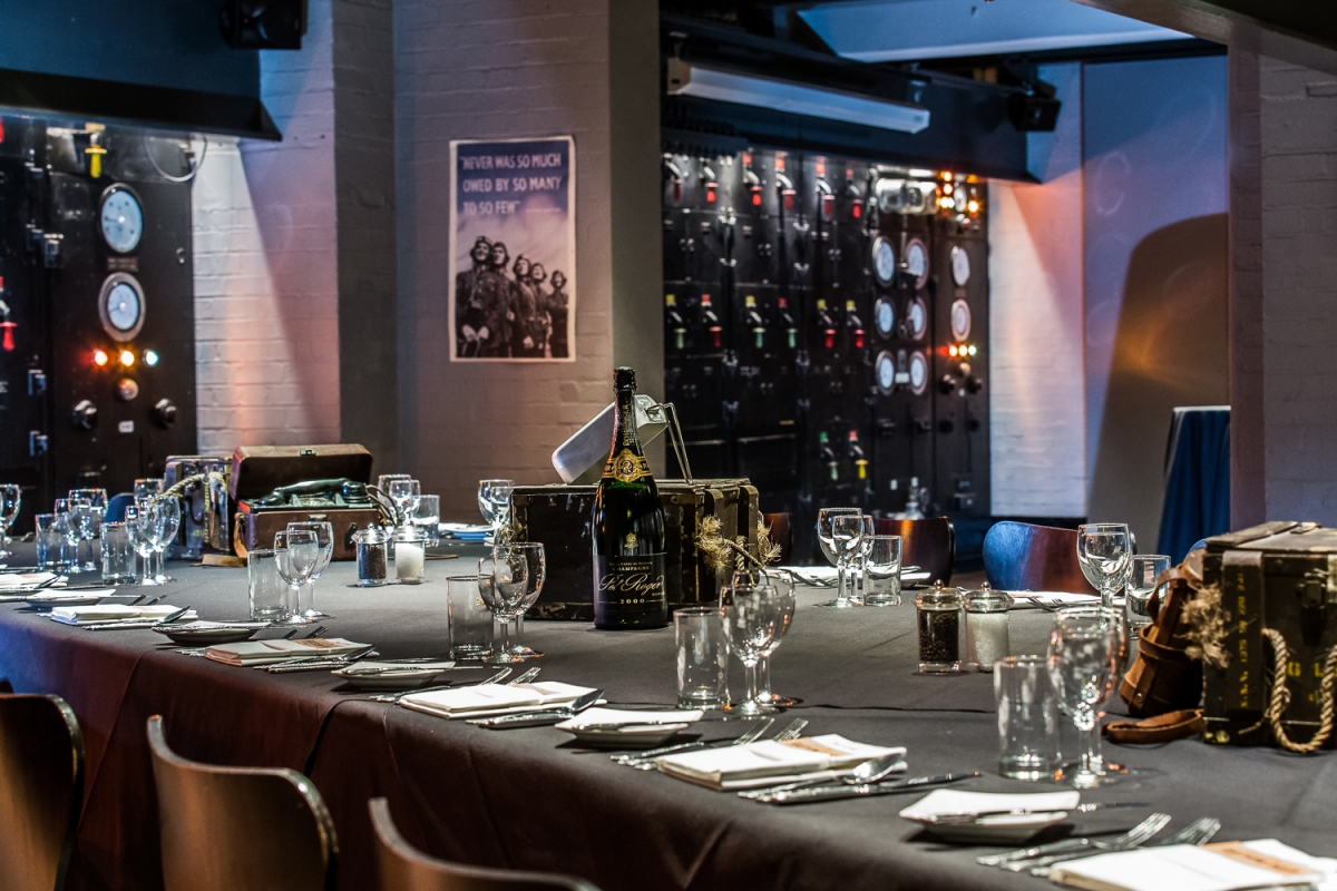 Churchill War Rooms Hired Event