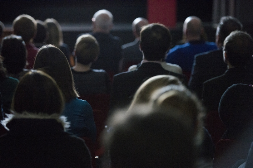 Audience at IWM Short Film Festival 2014