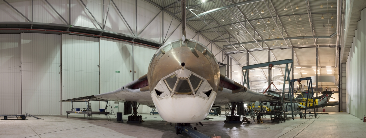 Handley Page Victor XH648 in the AirSpace Hanger