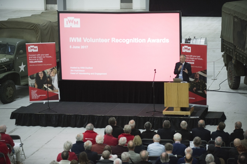 IWM Volunteer recognition awards ceremony