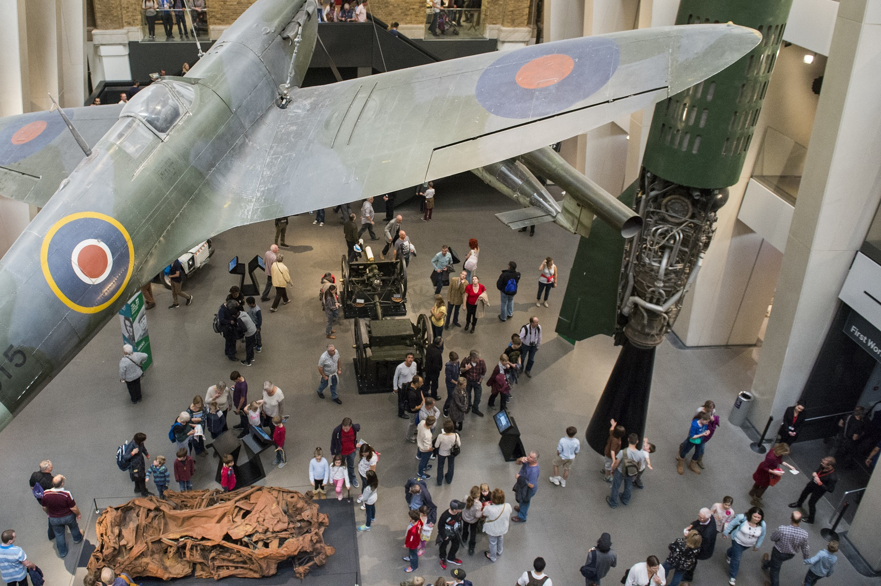 IWM London Atrium shot