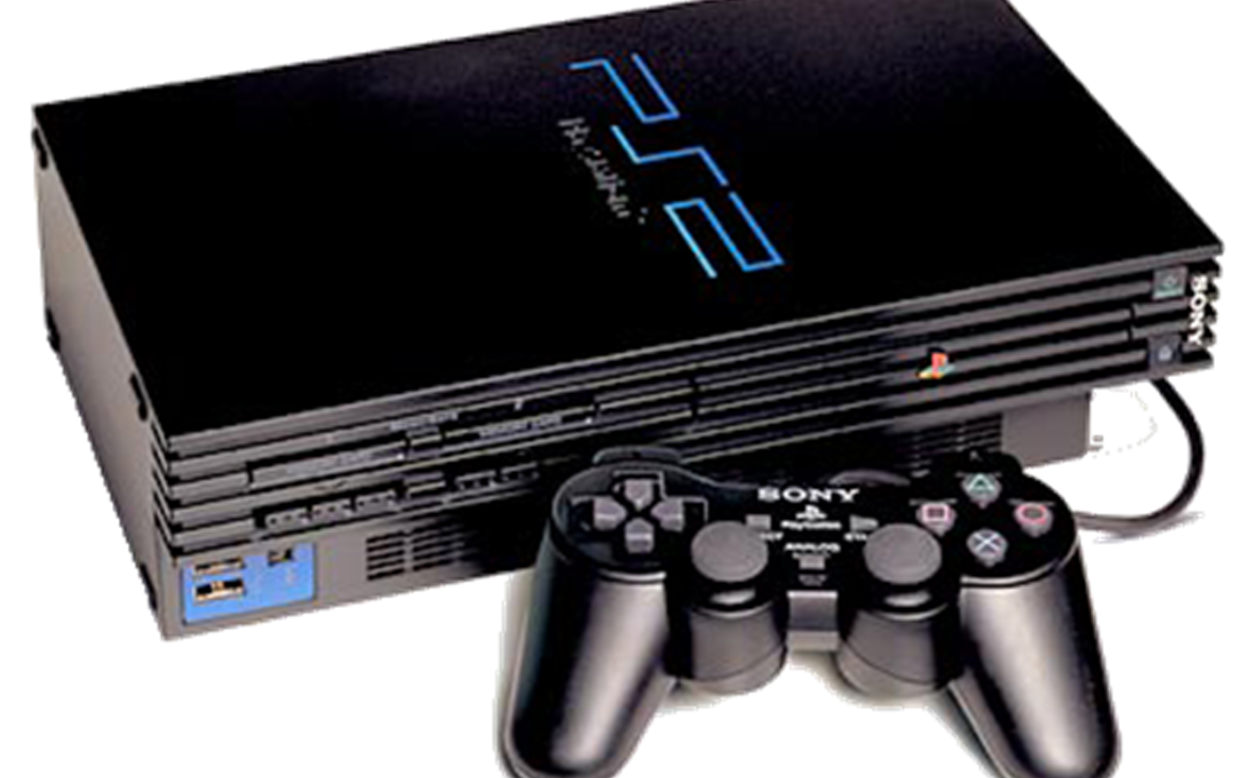 Playstation PS2 console containing Coltan