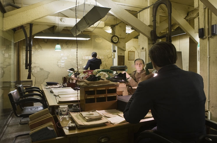The Map Room at Churchill War Rooms