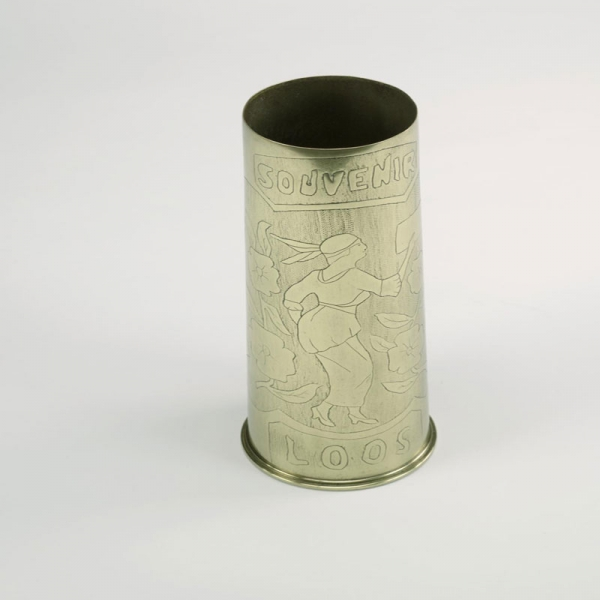 Decorated shell cases are perhaps the most common type of trench art.