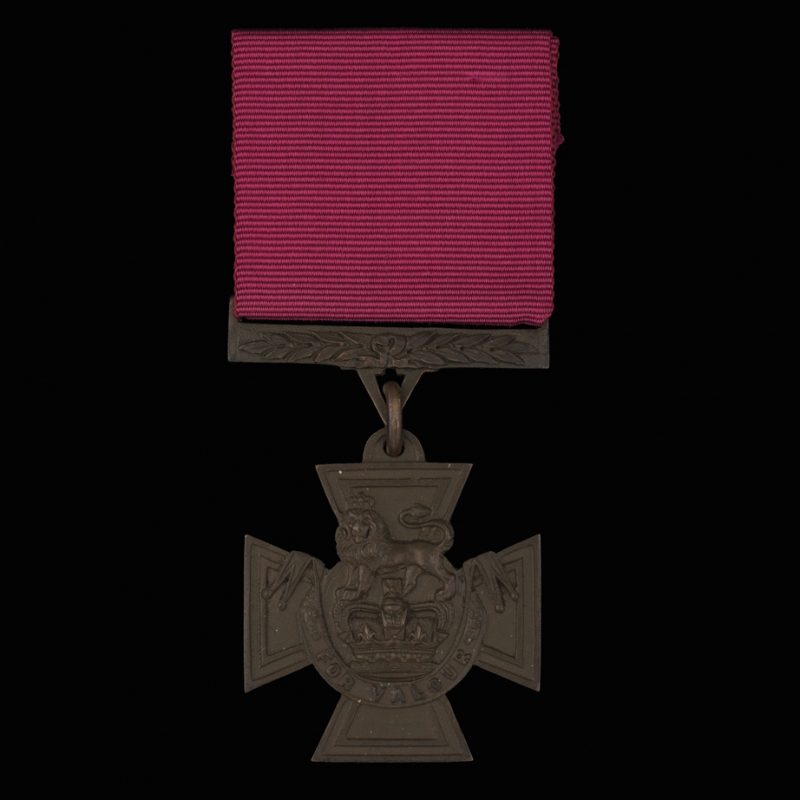 Replica of Johnson Beharry's Victoria Cross