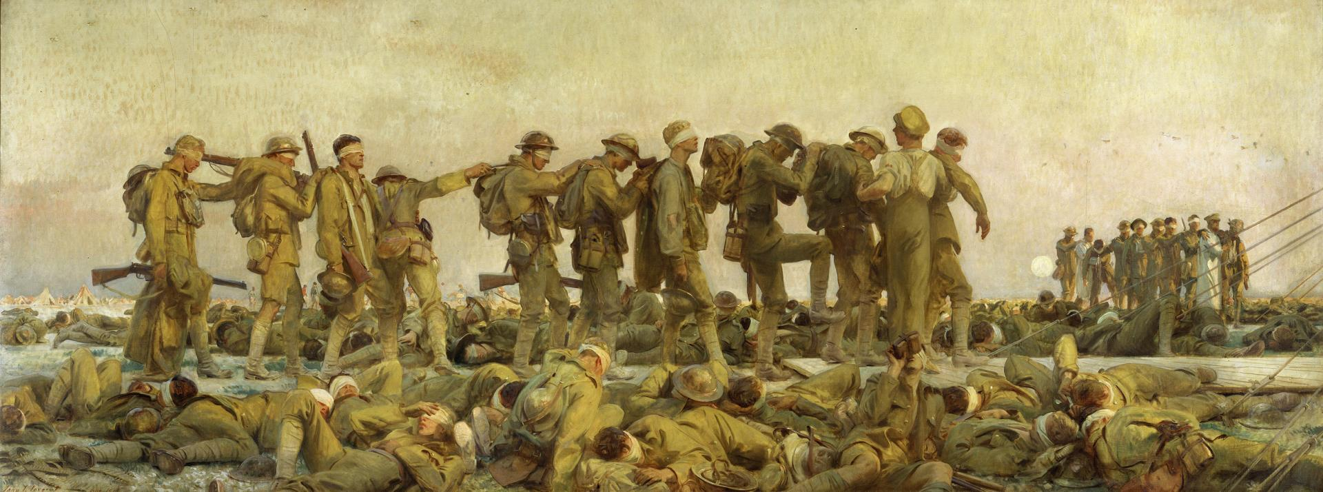 Gassed by John Singer Sargent