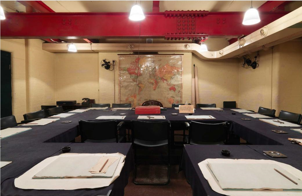 Churchill War Rooms - interior image