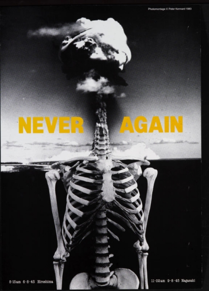 'Never Again', Peter Kennard ©The artist.