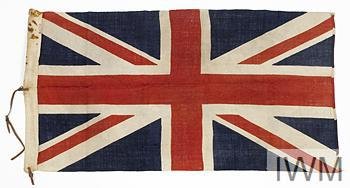 Flag carried behind F/M Haig on his various inspections of Troops of the BEF whilst he was CinC British Forces 1915-1919.