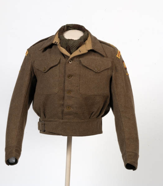 Blouse, Battledress,1940 pattern: Major, Royal Armoured Corps.