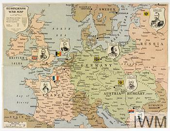 Map Of France During Ww1.What You Need To Know About Pre First World War Alliances Imperial
