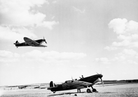 RAF Duxford and The Spitfire