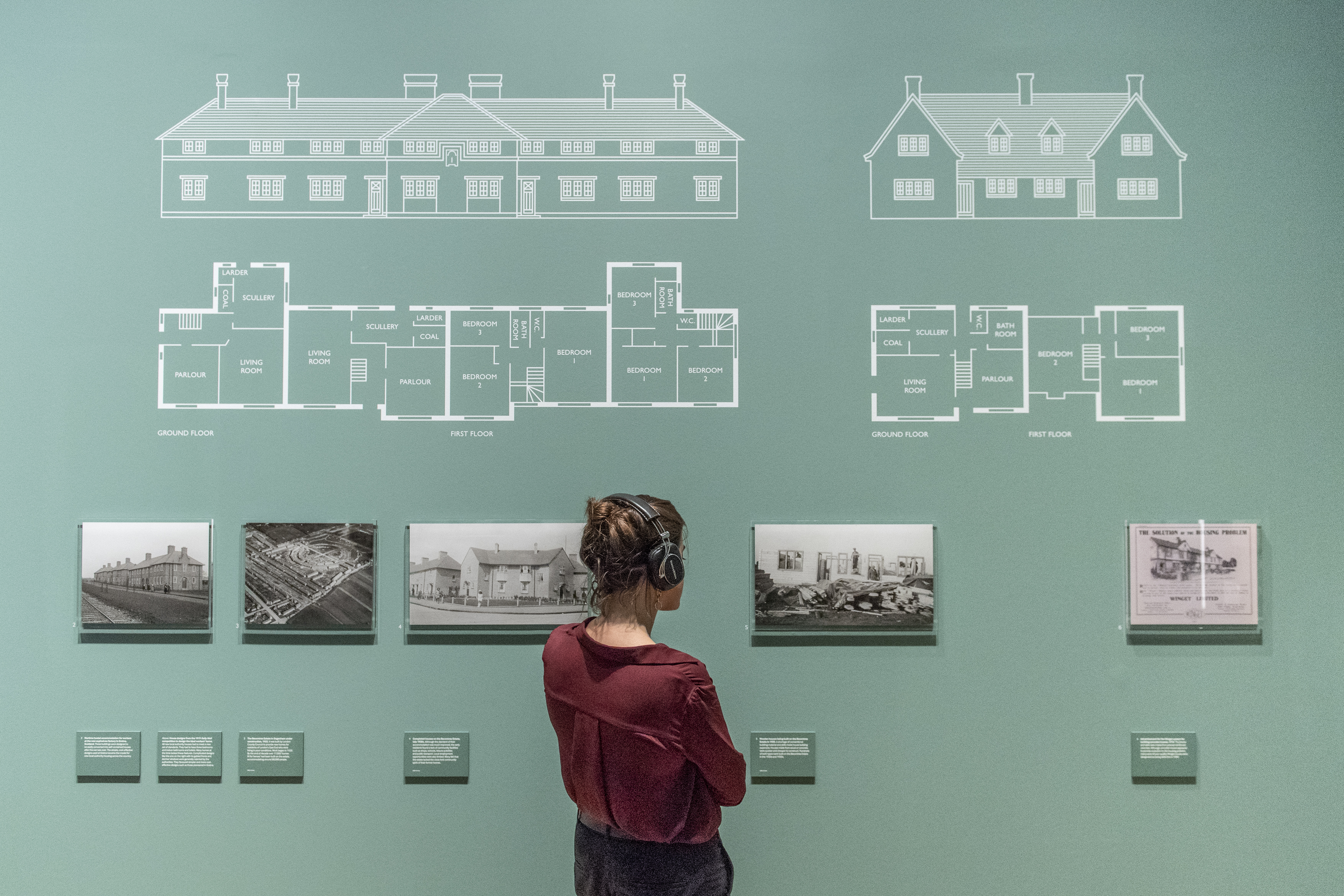 Photograph of Renewal, an exhibition at IWM London
