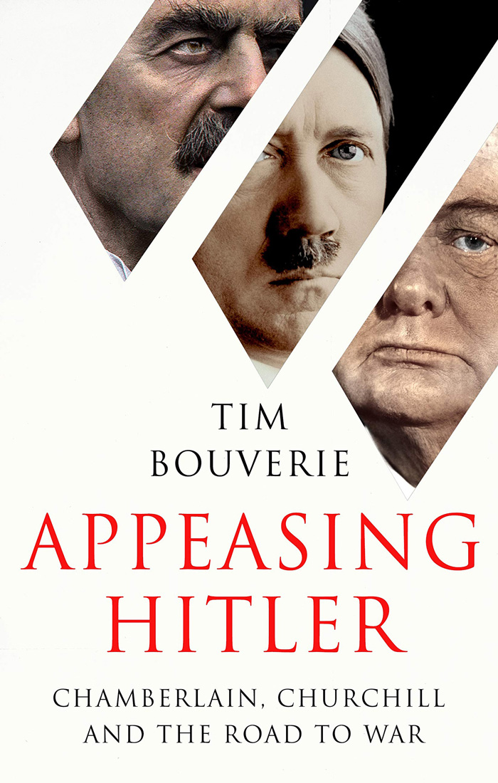 Appeasing Hitler book cover