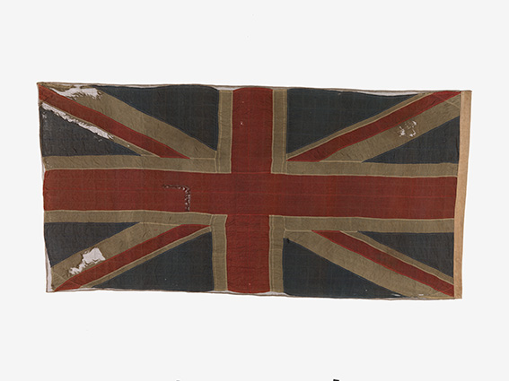 Union Flag used at surrender of Singapore, 1942