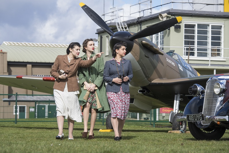 Battle of Britain Spirit of Britain photo shoot