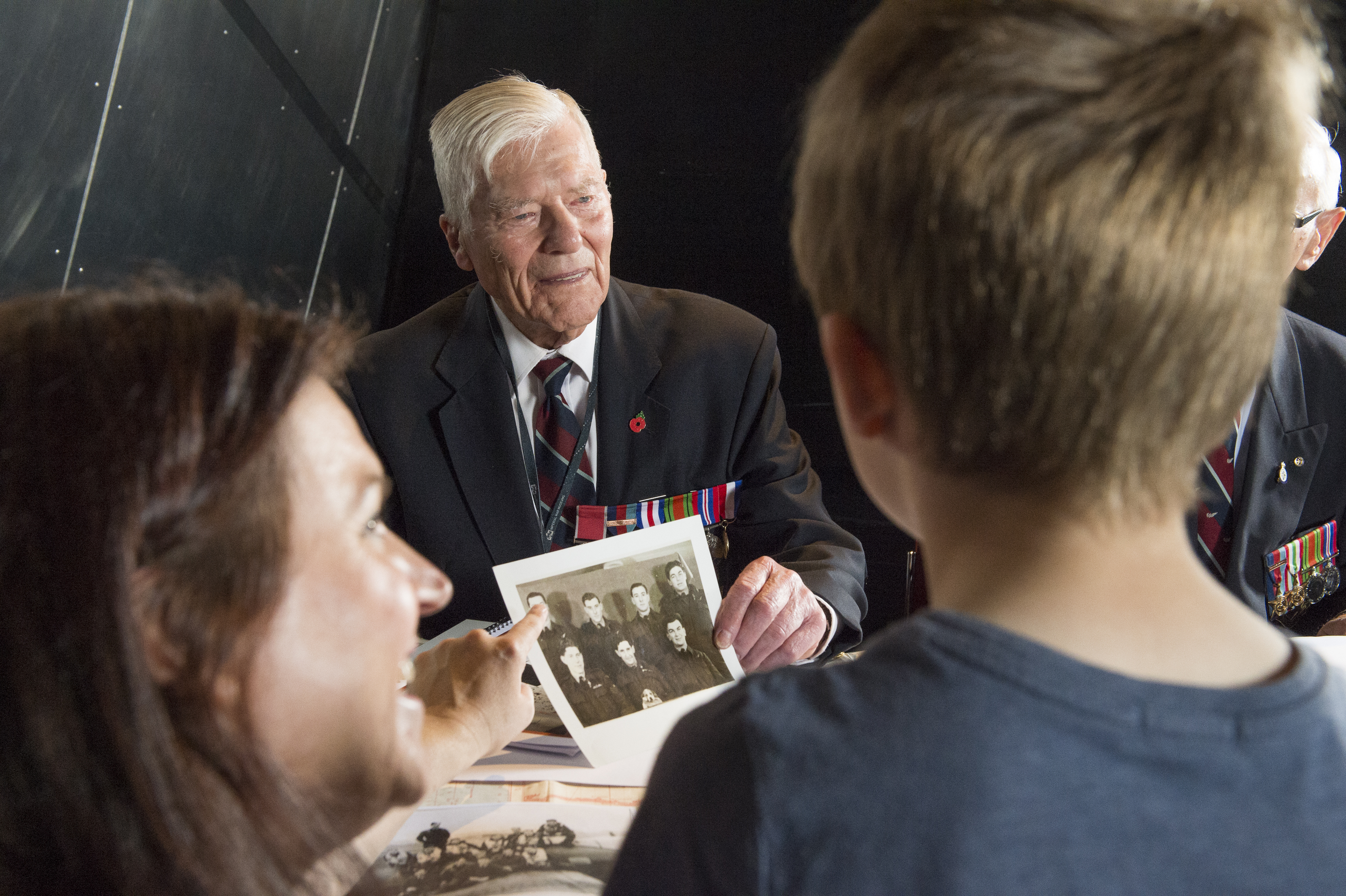 'Meet the Veterans' event at IWM North.