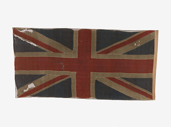Union Flag used at Surrender of Singapore 1942