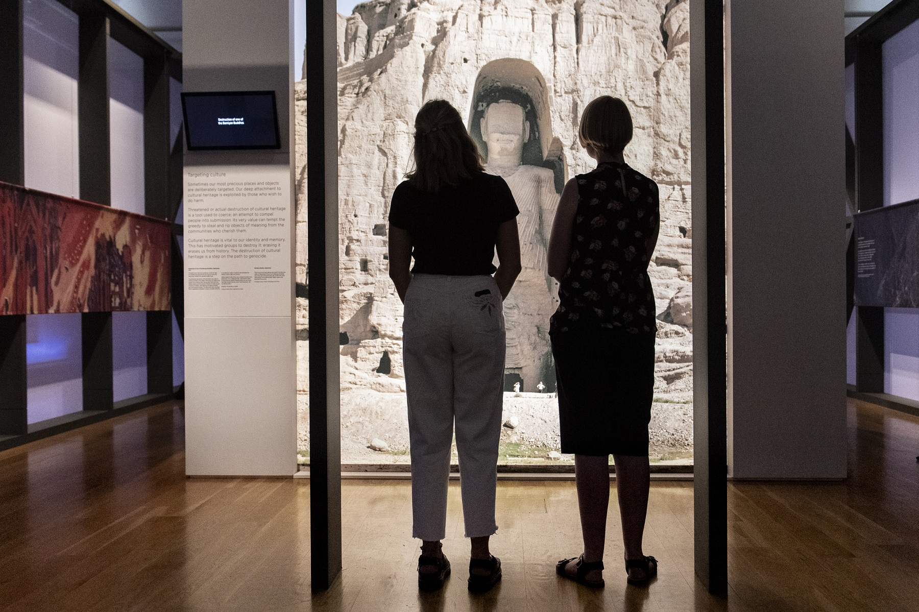 © IWM What Remains, an exhibition curated in partnership with Historic England, forms part of IWM's free Culture Under Attack season