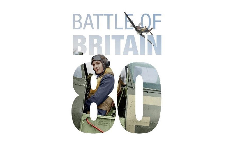 IWM Battle of Britain 80 logo