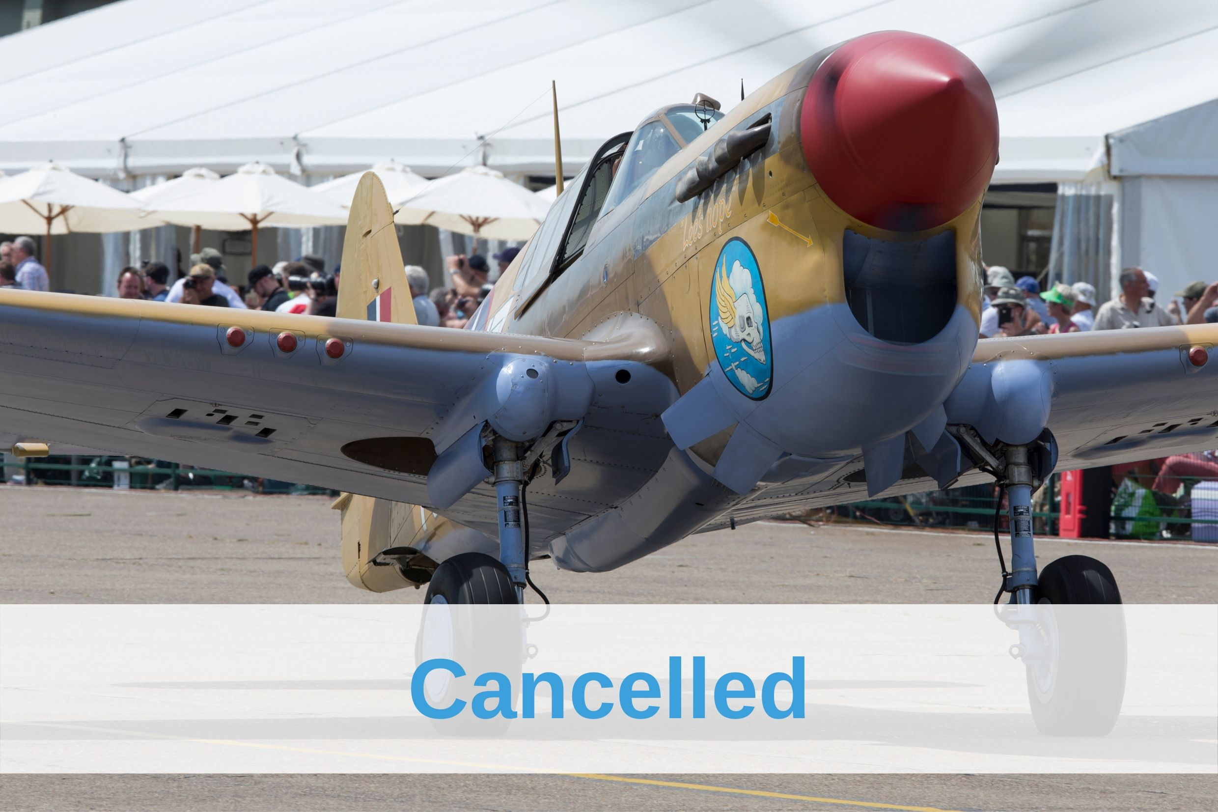 Flying Legends Air Show cancelled