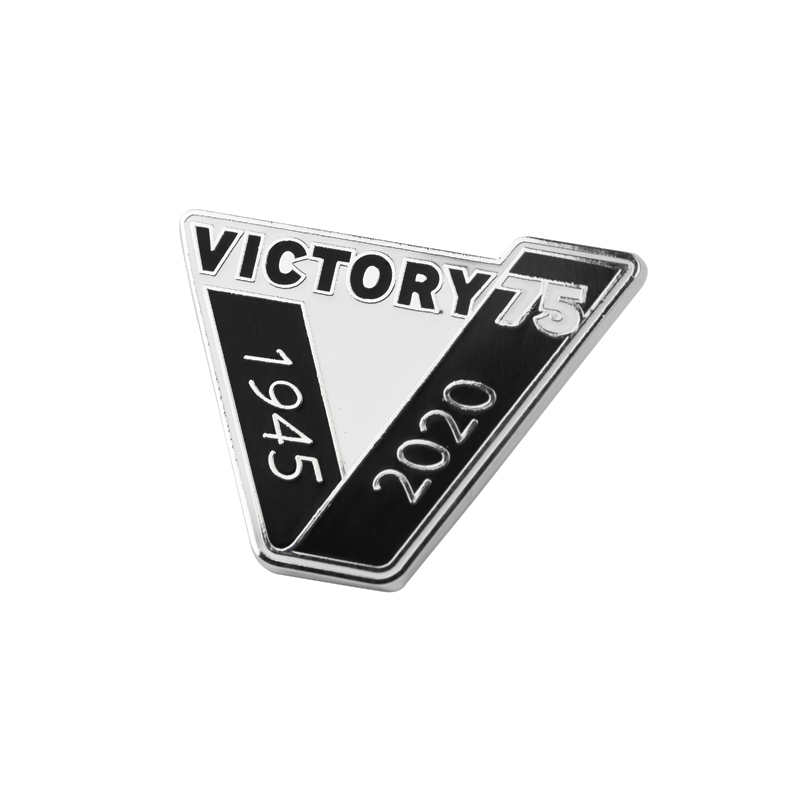 Victory 75 badge
