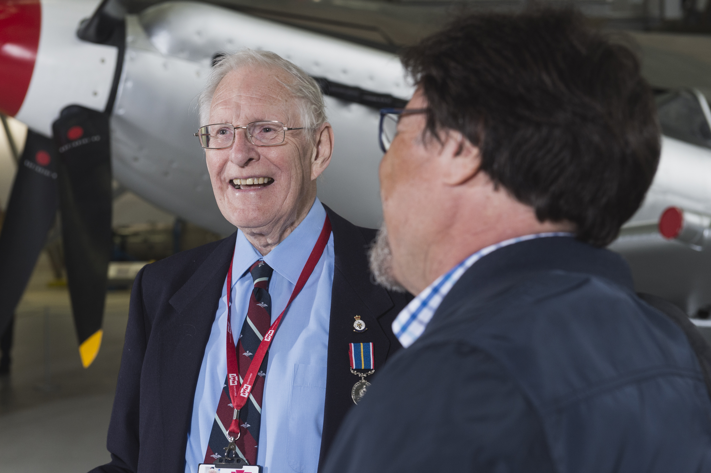John, a veteran participating in IWM's We Were There programme