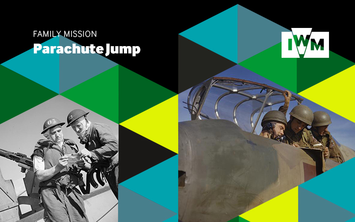 Poster image for Imperial War Museums' Family Mission: Parachute Jump