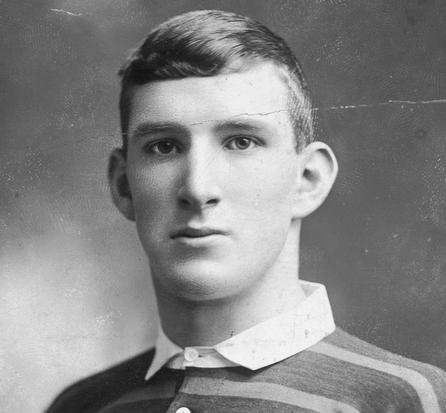 Photograph of Douglas Clark, a rugby player who fought at the Third Battle of Ypres