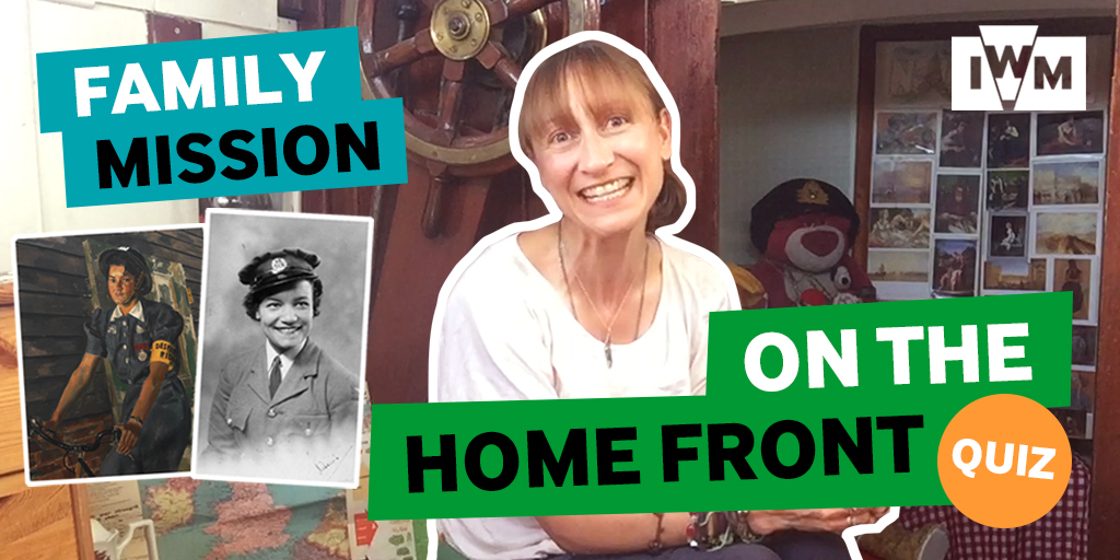 Poster image for IWM's Family Mission: Home Front Quiz