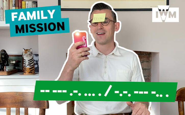 Family Mission: Morse Code graphic