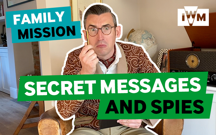 Family Mission: Secret Messages and Spies graphic