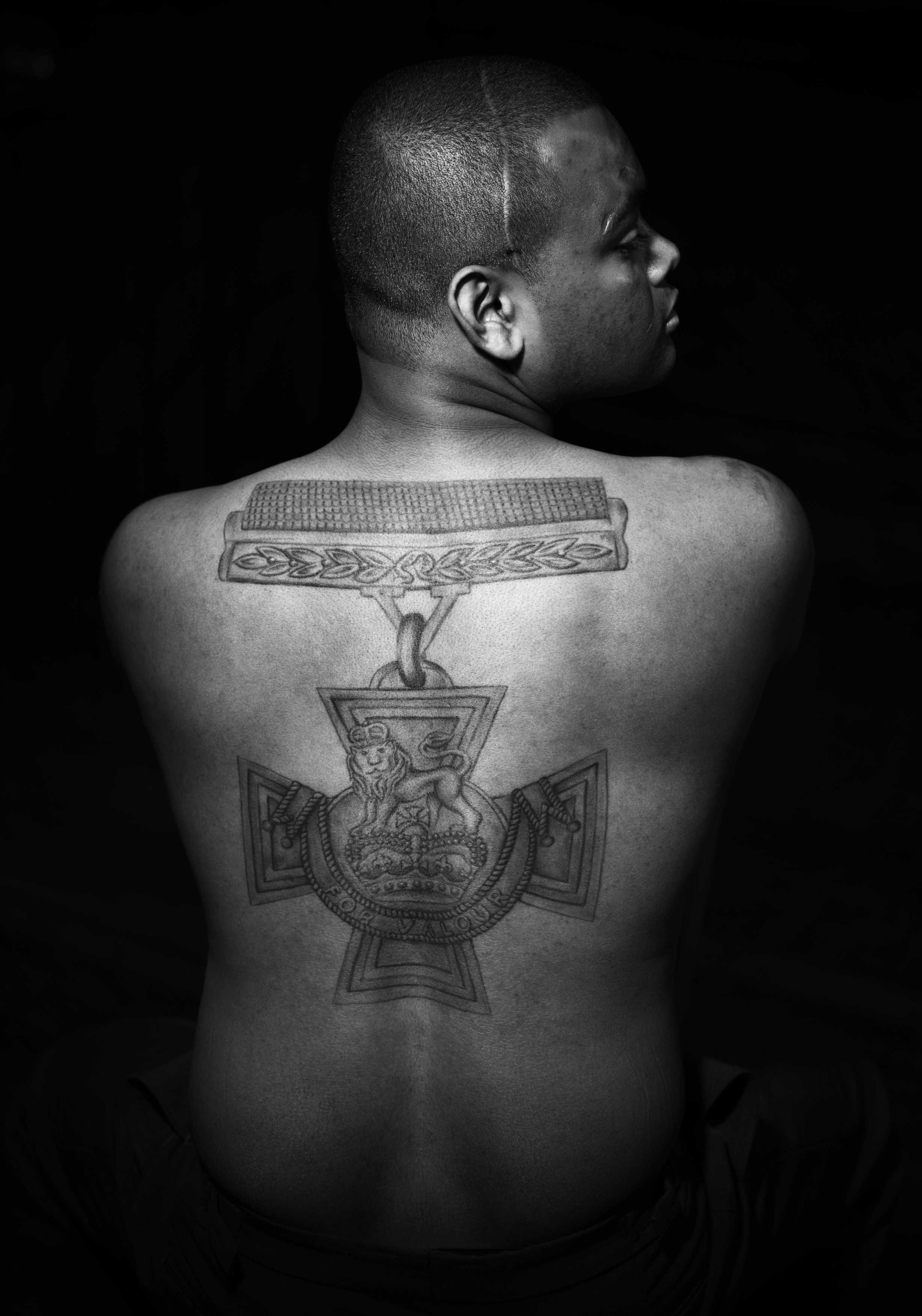 Johnson Beharry photoshoot