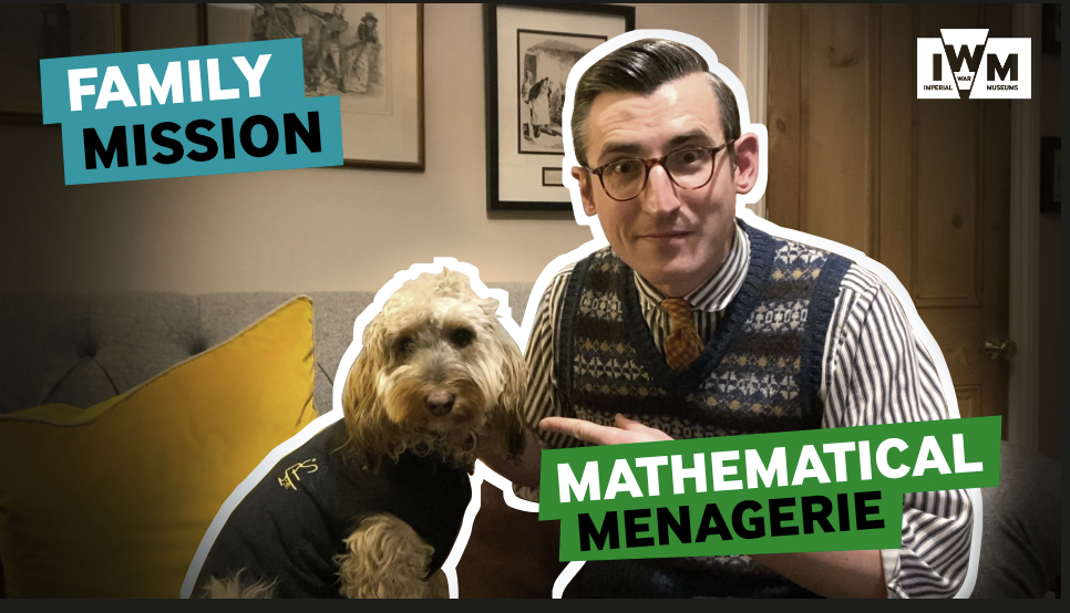 Family Mission - Mathematical Menagerie - graphic