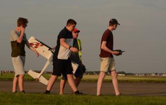 Model flying group