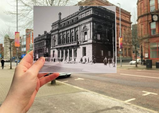 Ulster Museum then and now