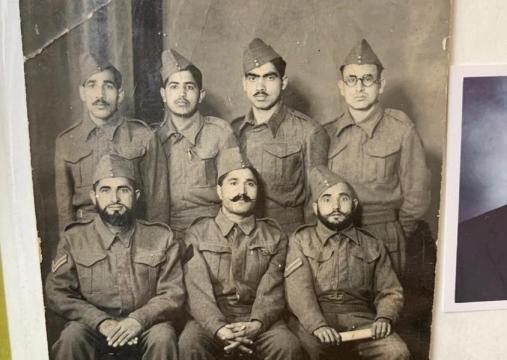 Group photo containing Syed Qurban Hussain Shah