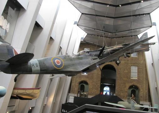 Photograph of the Atrium at IWM London