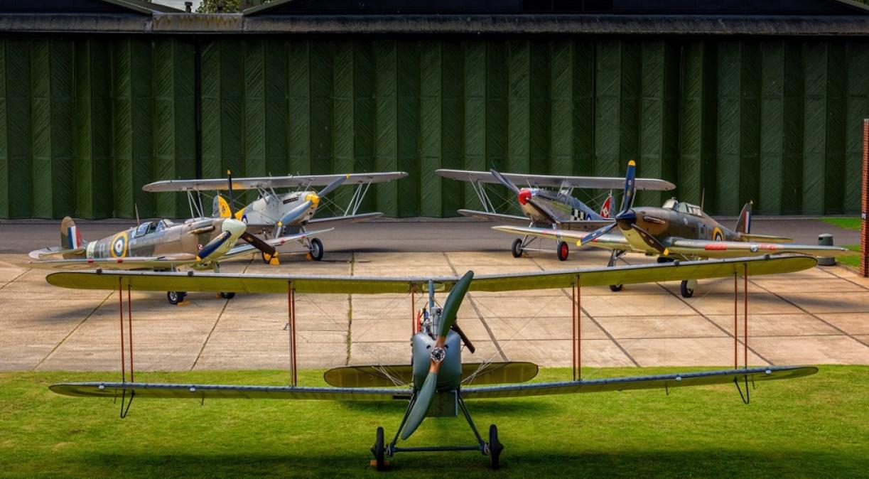 HAC Aircraft collection at IWM Duxford