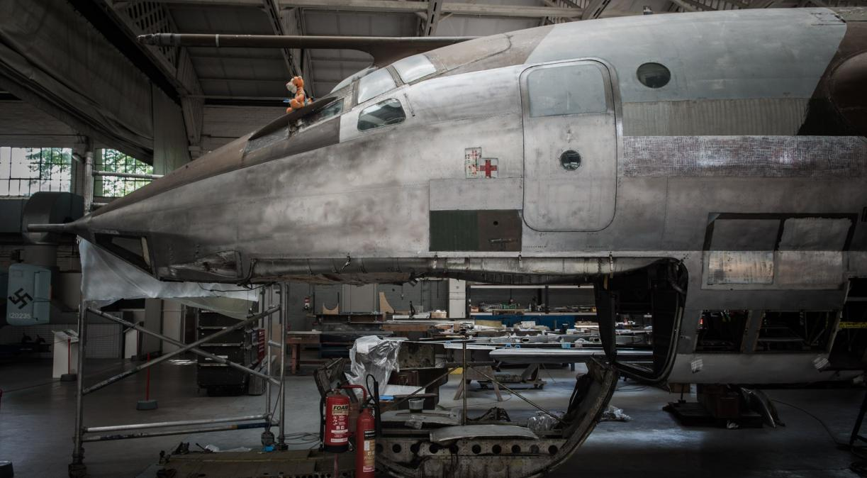 Conserving the Handley Page Victor XH648