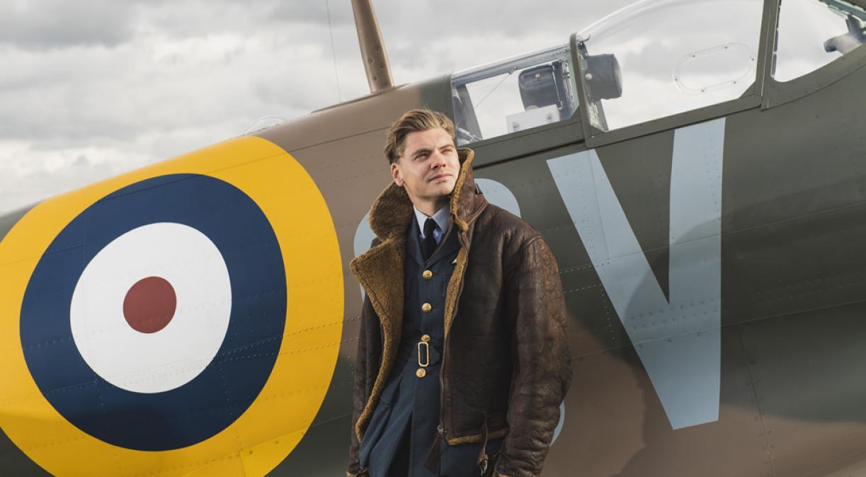 Jamie of Spirit of Britain at Duxford Air Shows
