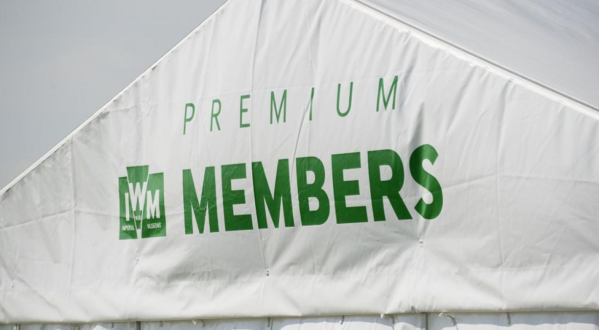 IWM Membership marquee at Duxford Air Shows
