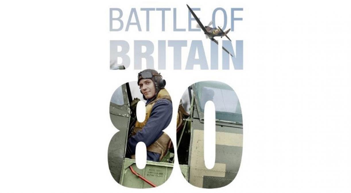 IWM Battle of Britain 80 logo