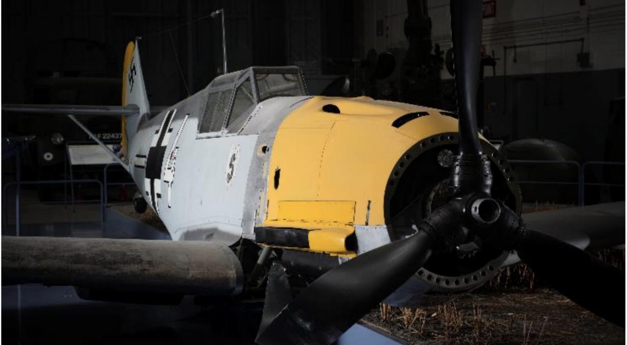 Messerschmitt Bf 109 at Imperial War Museums Duxford