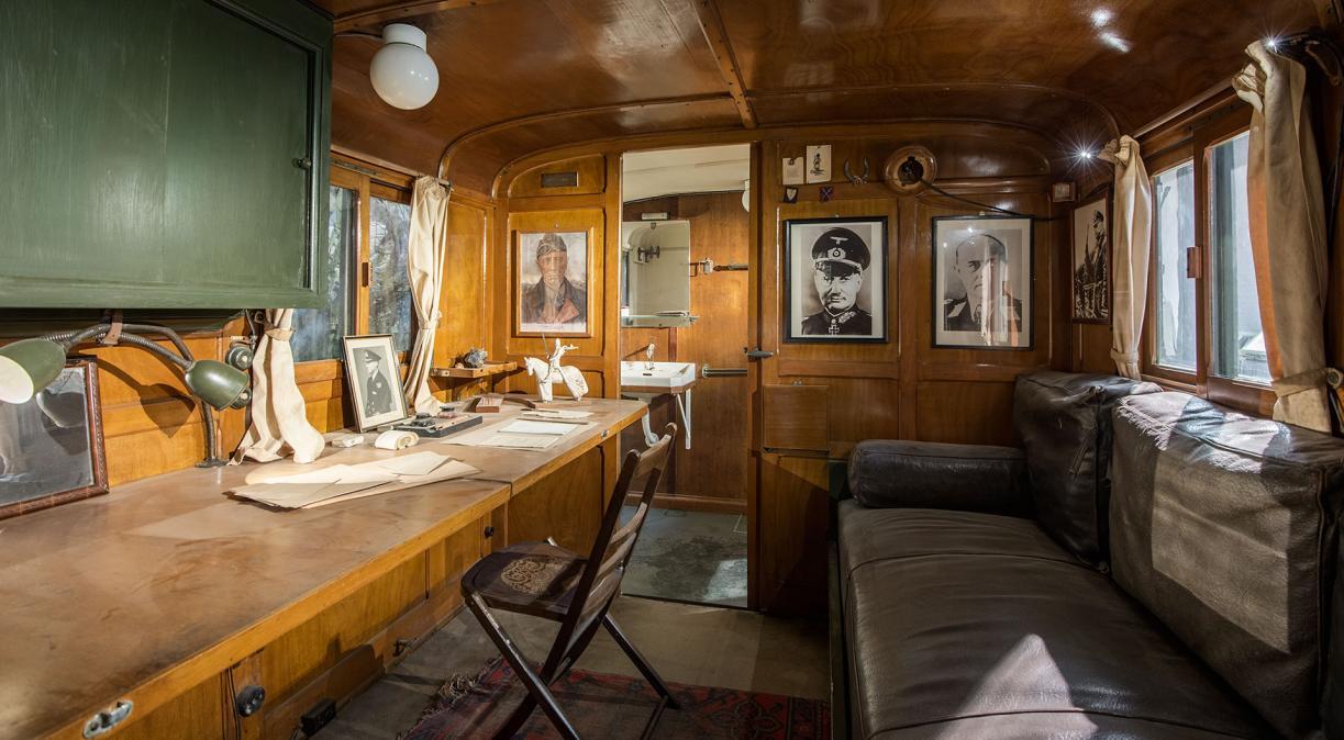 Monty's caravan