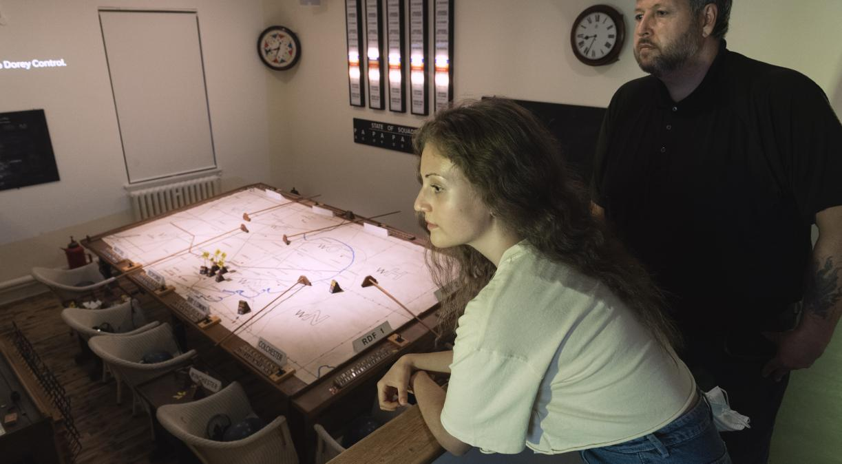 Battle of Britain: Ops Block Operations Room