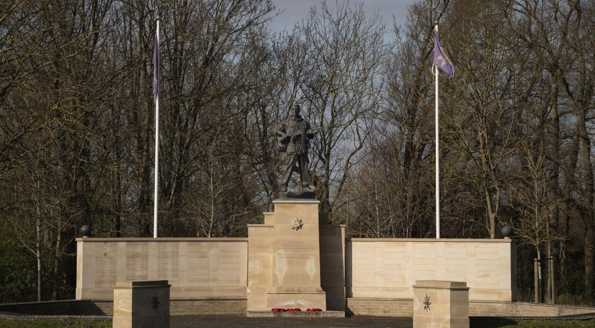 Royal Anglian Regiment Statue
