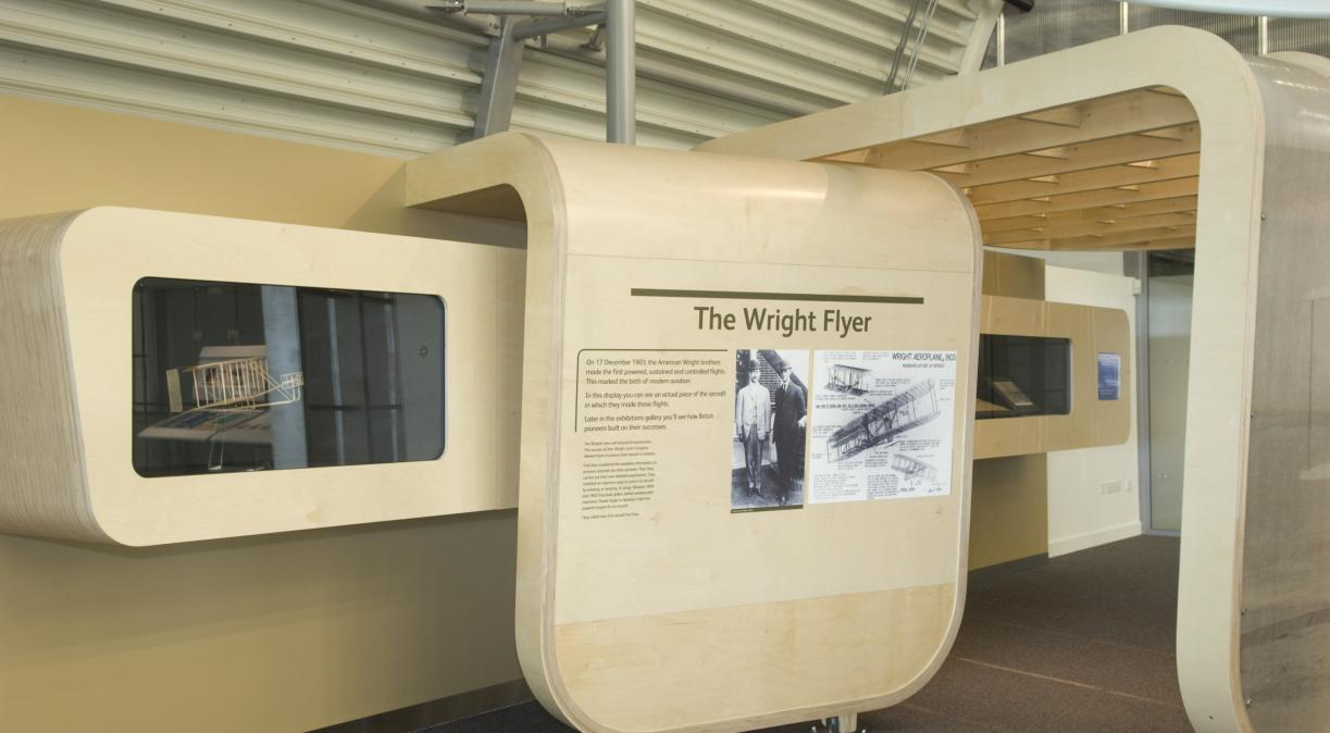 The Wright Brothers Flyer at  IWM Duxford
