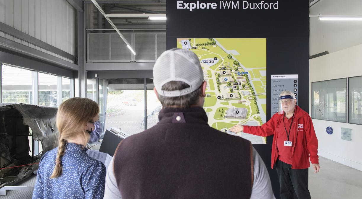 Visit Planning Point at Duxford